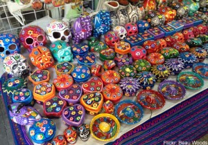 Mexican souvenirs market